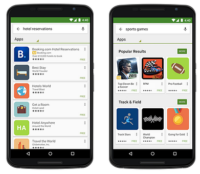 Annonces Adwords Google Play