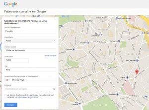 PumpUp Google Adresses