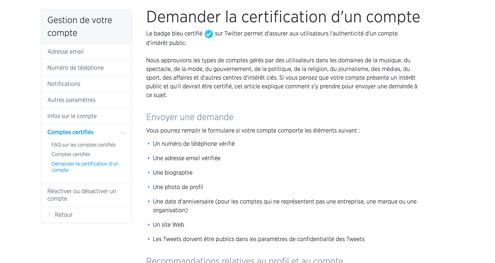 badge certifie twitter