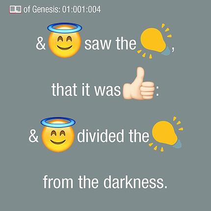 bible en emojis