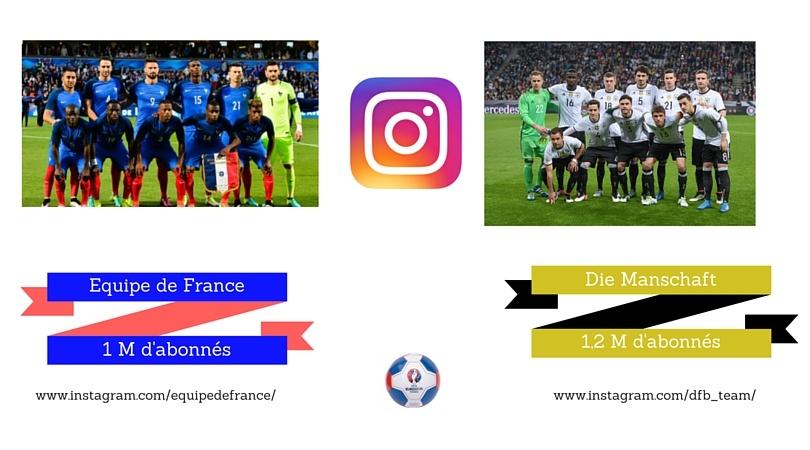equipe france allemagne instagram