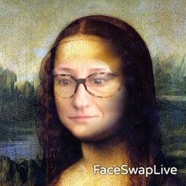 face swap live joconde