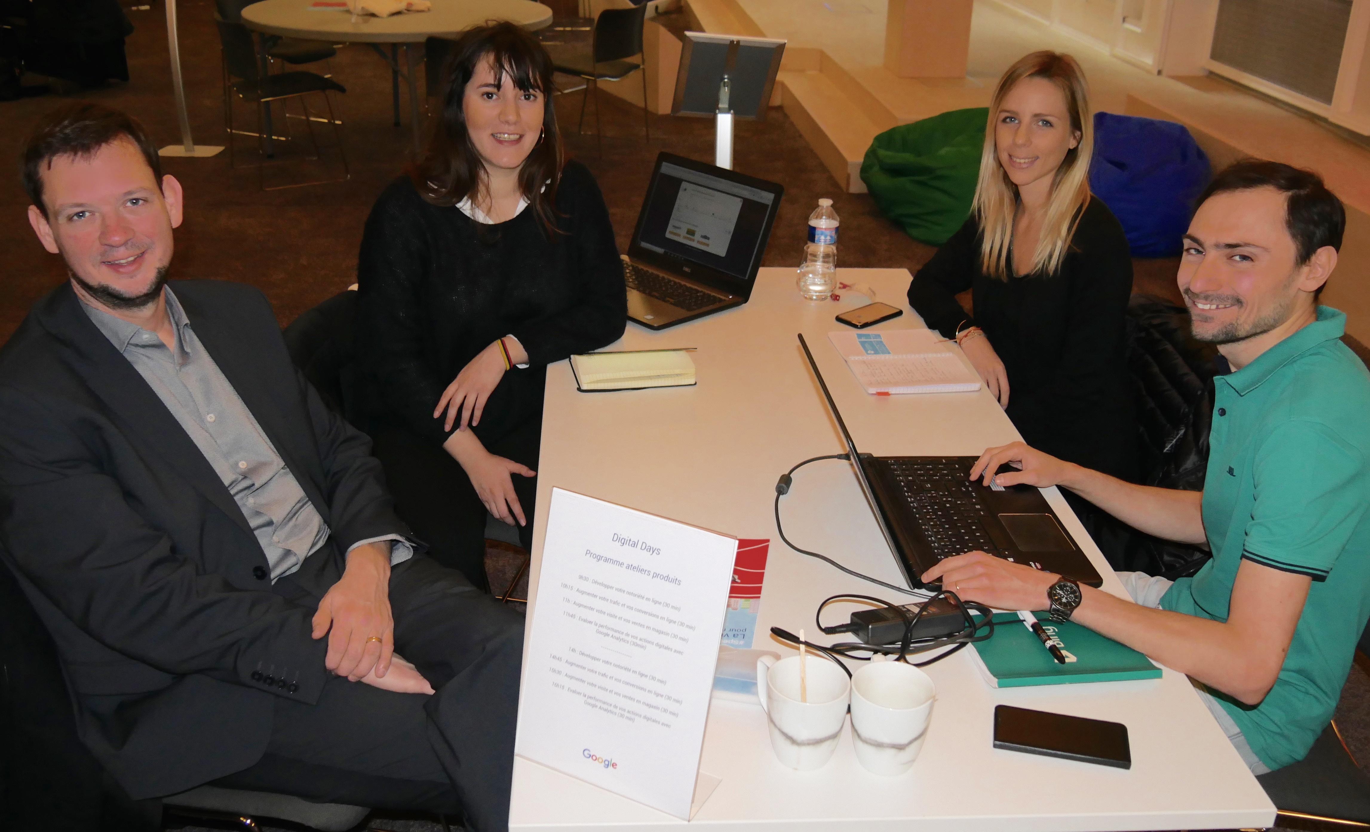 Notre agence Google Partner Premier au Google Digital Days