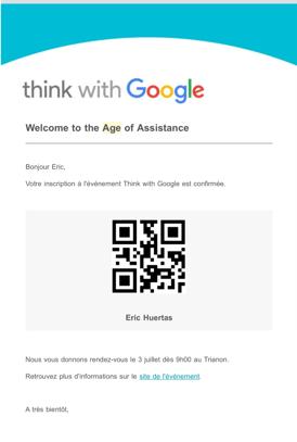 L'évolution du moteur de recherche Google vers l'ère de assistance