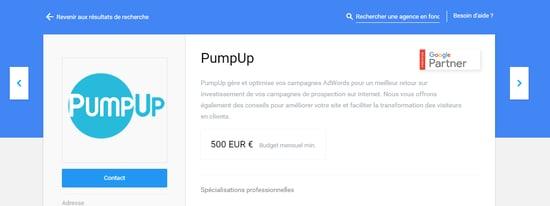 pumpup-google-partner premier