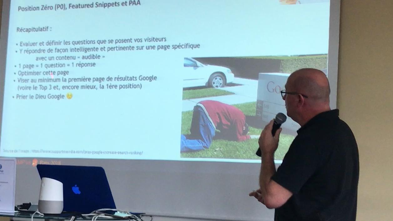 Les Featured Snippets, retour sur la conférence d'Olivier Andrieu au SEO Camp'us 2018