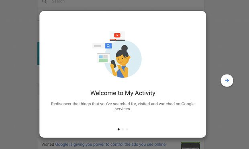 welcome activity google